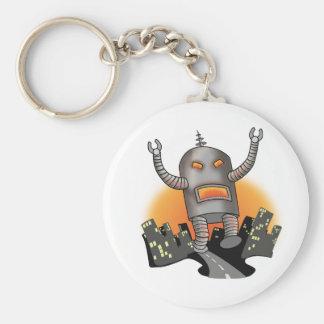 Robot Attack Keychain