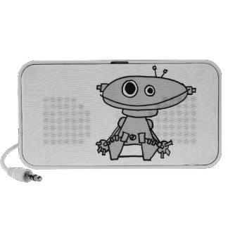 Robot Baby Speaker System