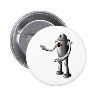 Robot Pinback Buttons