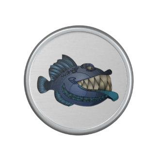 """Robot Blue"" Fish with Attitude Bluetooth Speaker"