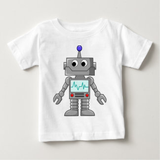 robot cartoon tee shirts
