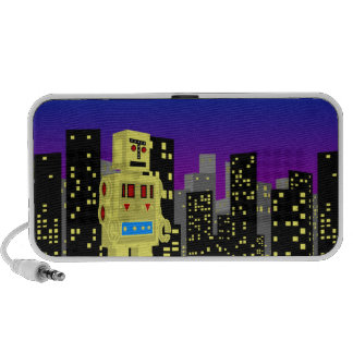 Robot City Travelling Speaker