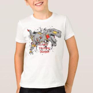 Robot Cyborg Tyrannosaurus Dinosaur shirt