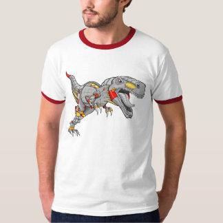 Robot Cyborg Tyrannosaurus Dinosaur  T-shirt
