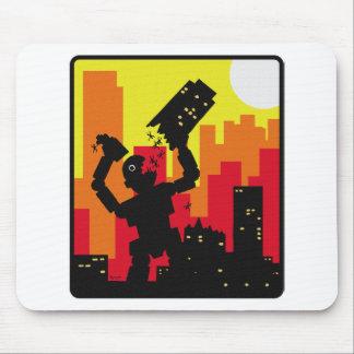 Robot Destroy Mousepads