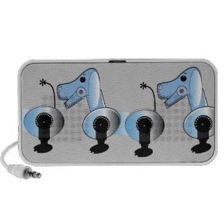Robot Dog Doodle Speakers