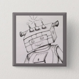 Robot Drawing Detail, 2 inch pin