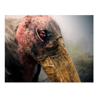 Robot Evil Vulture Postcard. Postcard