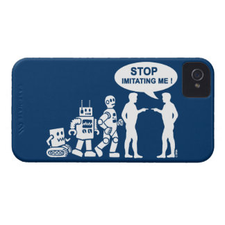 Robot evolution iPhone 4 cover