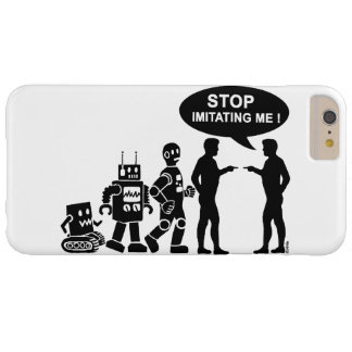 robot evolution barely there iPhone 6 plus case