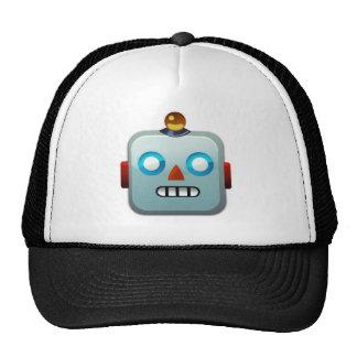 Robot Face Emoji Cap
