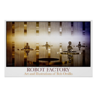 Robot Factory Poster