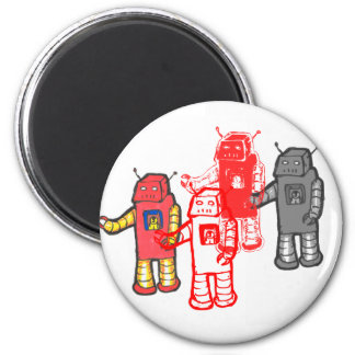 robot four magnet