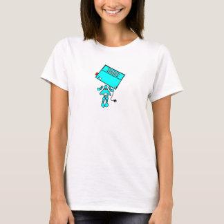 robot girl smaller centered T-Shirt