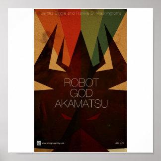 Robot God Akamatsu Poster 5