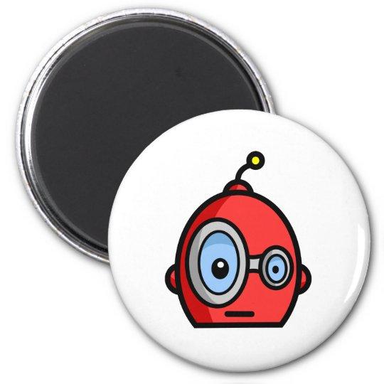 Robot Heads Magnet