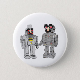 Robot in disguise 6 cm round badge
