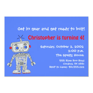 Robot Invitations