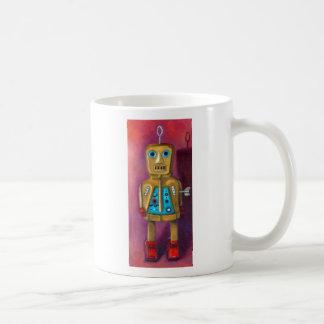 "Robot Jimmy Bob, ""Jimmy Bob The Robot"", By Leah... Basic White Mug"