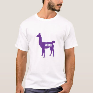 Robot Llama T-Shirt