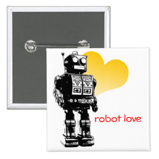 Robot Love Custom Button