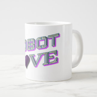 """Robot Love"" Jumbo Mug"