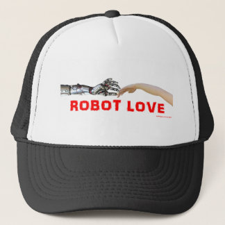 Robot Love Trucker Hat