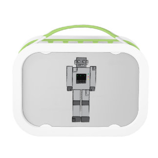 Robot lunch box. lunch box