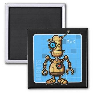 Robot Max magnet