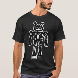 Robot Mk I - (White Outline) T-Shirt