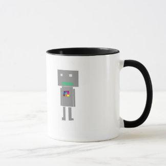 robot: mug