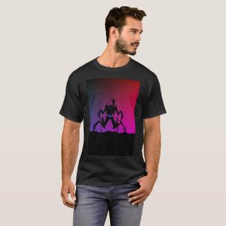 Robot Nation Vibrant Human Hawk Modern T-Shirt
