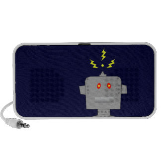 robot notebook speaker