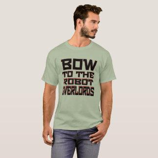 """Robot Overlords"" Men's Basic T-Shirt"