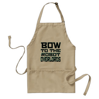 """""""Robot Overlords"""" Standard Apron"""