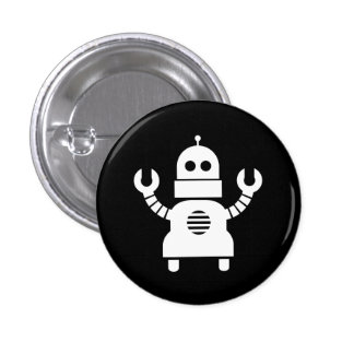Robot Pictogram Button