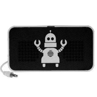 Robot Pictogram Doodle Speaker