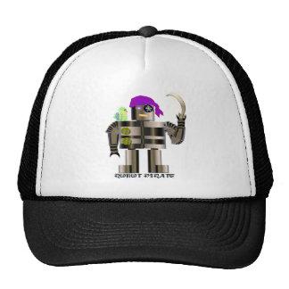 Robot Pirate T-shirts Mesh Hat