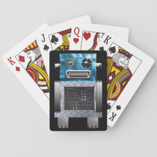 Robot Playing Cards