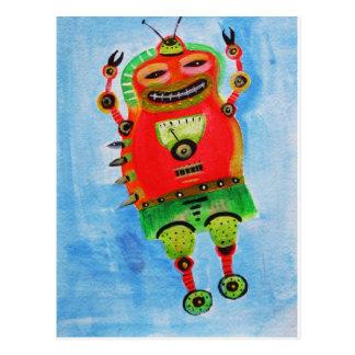 ROBOT Pop ART Postcards