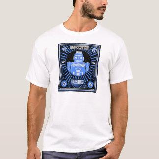 Robot Revolt Blue T-Shirt