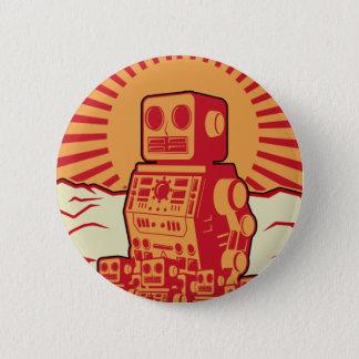 Robot Revolution 6 Cm Round Badge