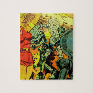 Robot Revolution Jigsaw Puzzle