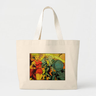 Robot Revolution Large Tote Bag