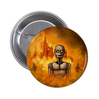robot revolution scifi button