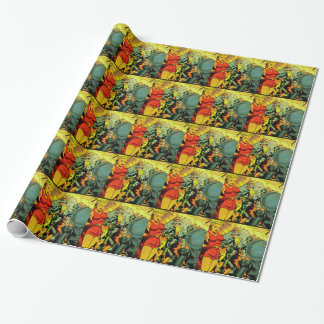 Robot Revolution Wrapping Paper