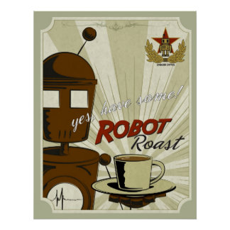 Robot Roast Poster