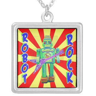 Robot Rock Necklace