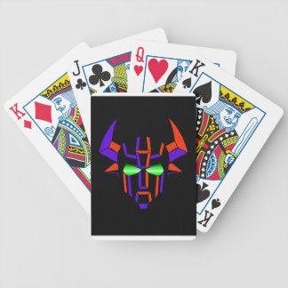 ROBOT RODEO Black Style Bicycle Playing Cards