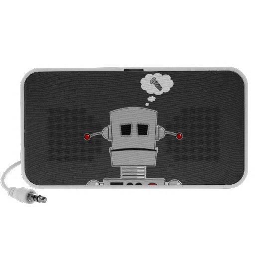 Robot Screw Doodle Speaker